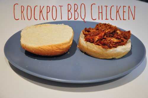 Crockpot Recipes: BBQ Chicken