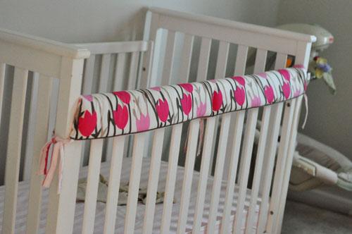 Repurposing a Crib Bumper – Stay At Beach Mom . com