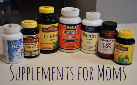 supplements and vitamins for moms