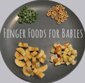 finger foods for babies