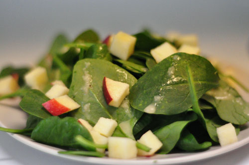 recipe for spinach