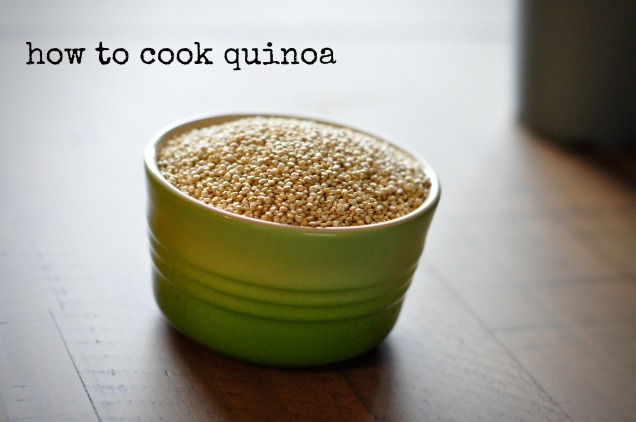how to cook quinoa, plus an easy breakfast recipe